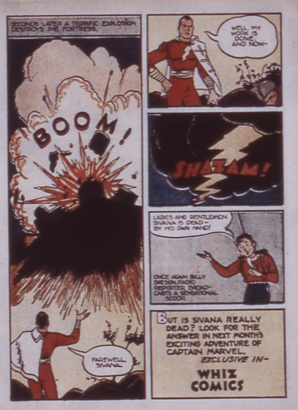 Read online WHIZ Comics comic -  Issue #3 - 15