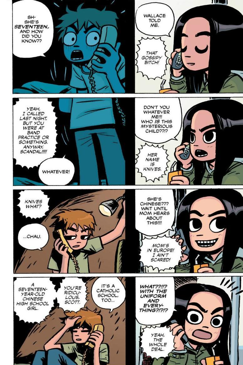 Read online Scott Pilgrim comic -  Issue #1 - 23