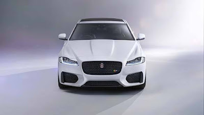 Jaguar XF luxury car HD image