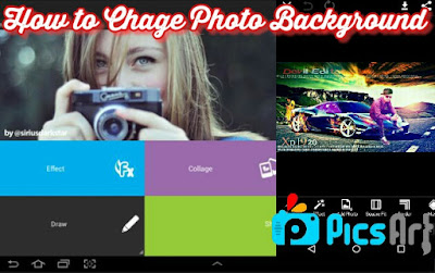 Picsart Editing Trick  Photo Ka background Kaise change kare
