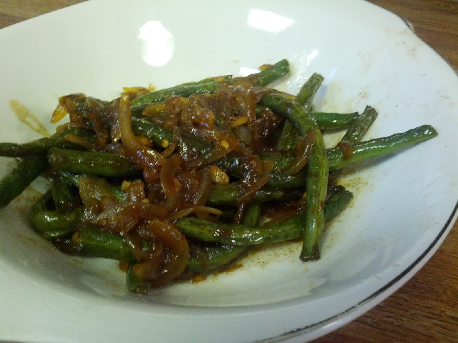 Sauteeing For One: Vegetables For Lunch - Chinese-style ...