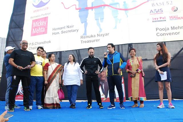 Hemant Nair, Smt. Jyotsna A. Dighe, Dr. Mickey Mehta & Govinda