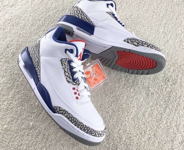 470fa3e99b8 Black Friday is the release date of these shoes. Blue, white, red color  with classic burst crack, are people heart. Air Jordan 3 OG
