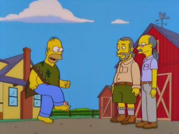 The Simpsons - Season 10 Episode 06: D'Oh-in' in the Wind