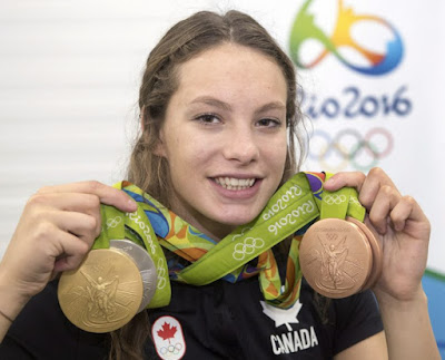 Penny Oleksiak 'Would Love' to Carry Canadian Flag for Rio Olympics Closing Ceremony If Asked