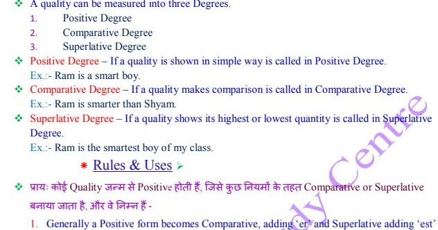 Degree – English Grammar Notes for Competitive Exams PDF Download