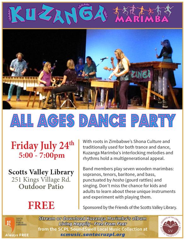 FSVPL ORG: Kuzanga Marimba Dance Party!