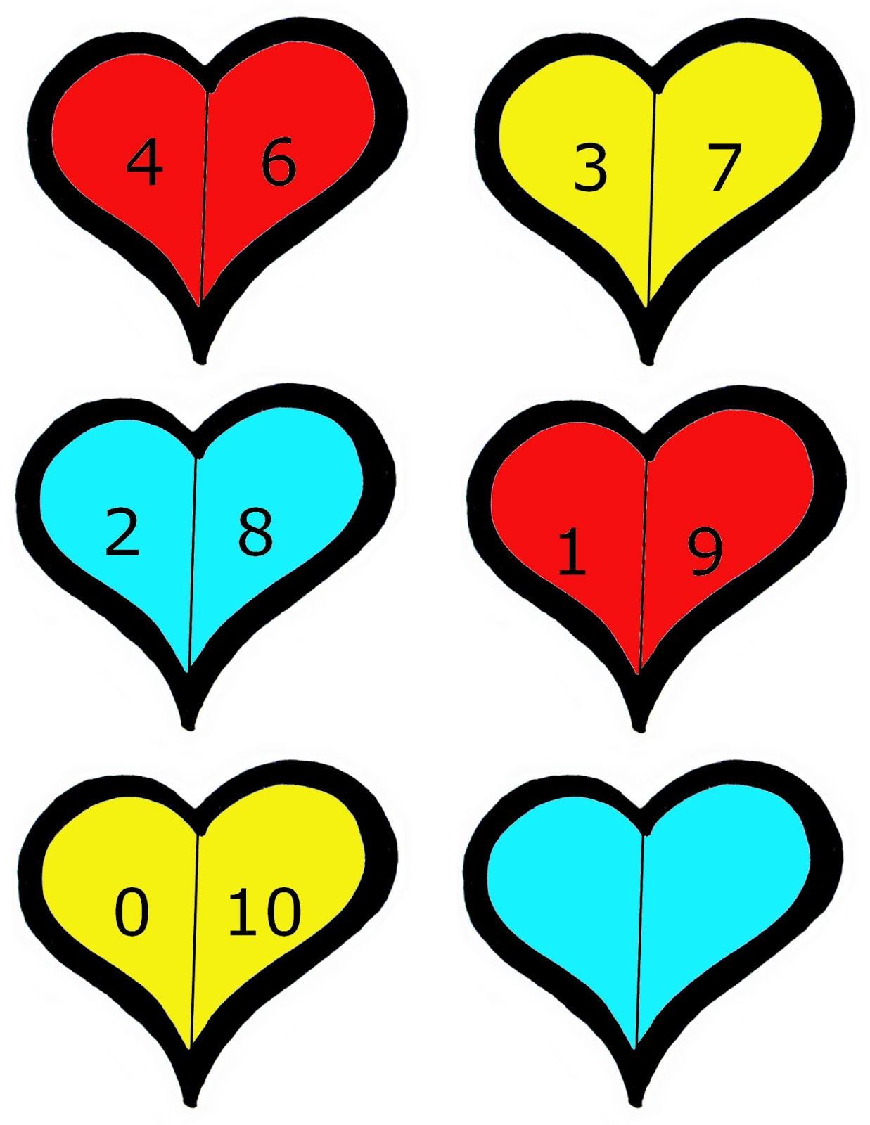 Valentines Day Amp Hearts Themed Free Preschool Printables