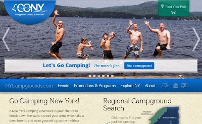 Campground Owners of New York unveils new website