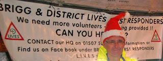 Brigg Christmas Lights 2013 - LIVES first responders
