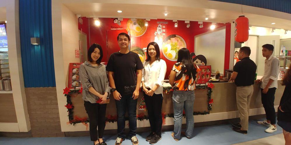 Tomochan Ramen Express blogger event