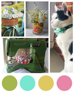 Spring Color Inspiration, Lawn Fawn