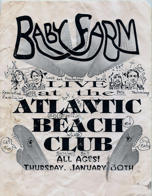 David's Flyers - 02 - Baby Farm - Atlantic Beach Club - 30 Jan. 1992