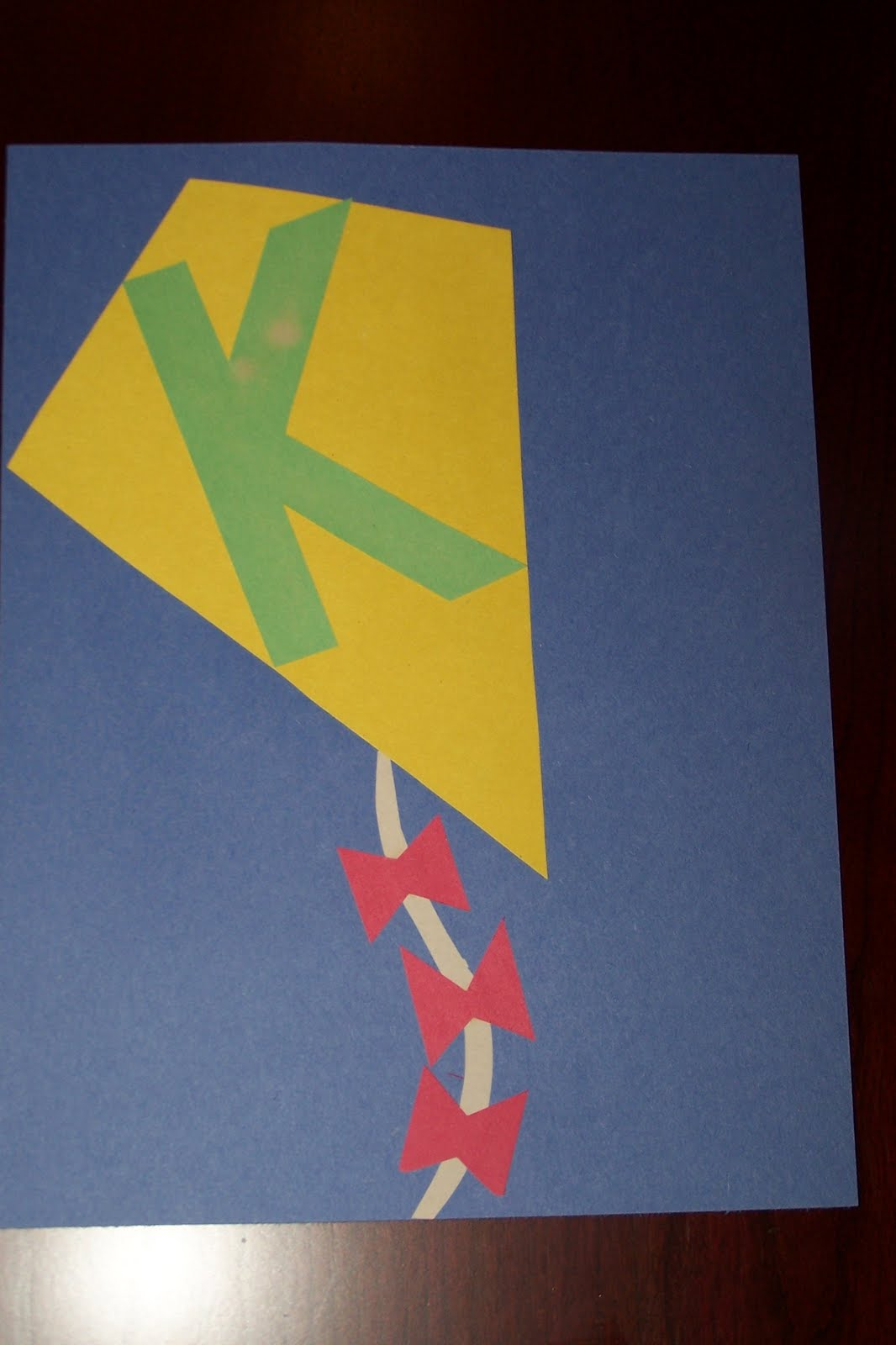 F Art Preschool Spring Kite Ideas