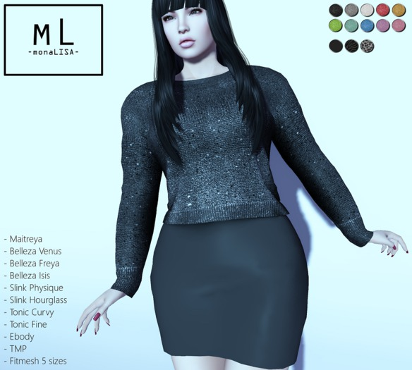 https://marketplace.secondlife.com/p/mL-Luz-Outfit-MaitreyaBellezaSlinkTonicEbodyTMPFitmesh-GIFT/13413344