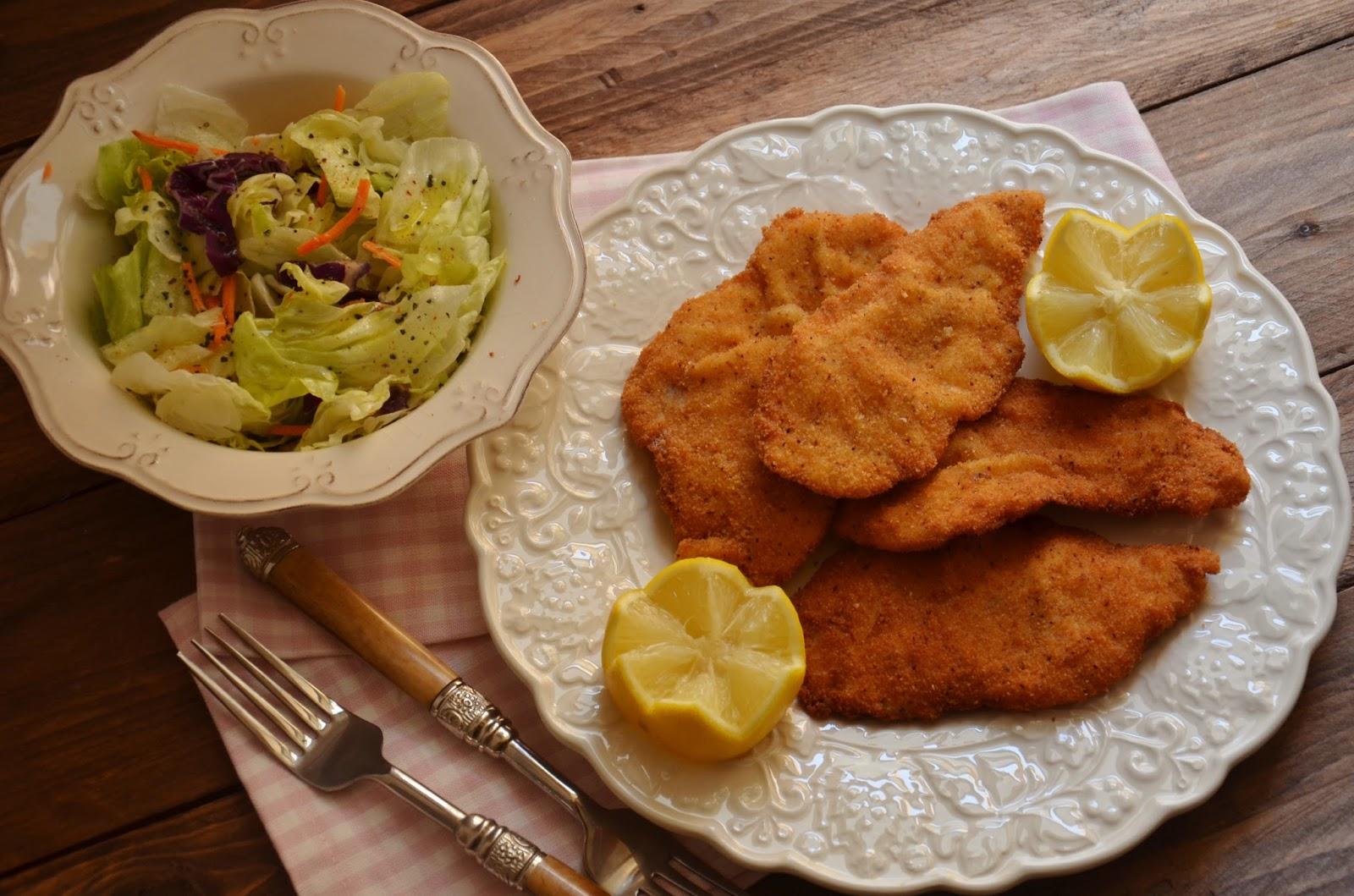 Cuchillito y tenedor el filete empanado perfecto cocina - Cocina para principiantes ...