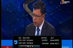 Frekuensi Metro TV HD terbaru di Palapa D 113°E