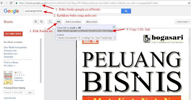 cara download buku di google book gratis