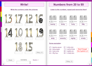 NUMBERS. LIBRO INTERACTIVO