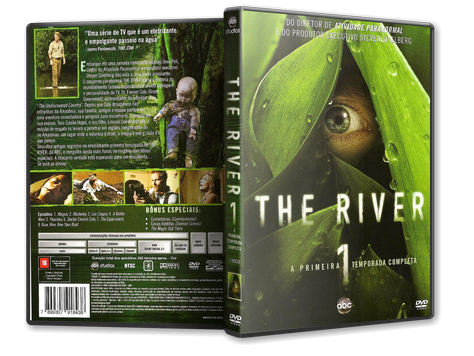 Capa DVD The River 1ª Temporada (Oficial)