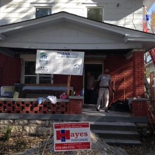 The Hayes Company helping Habitat for Humanity