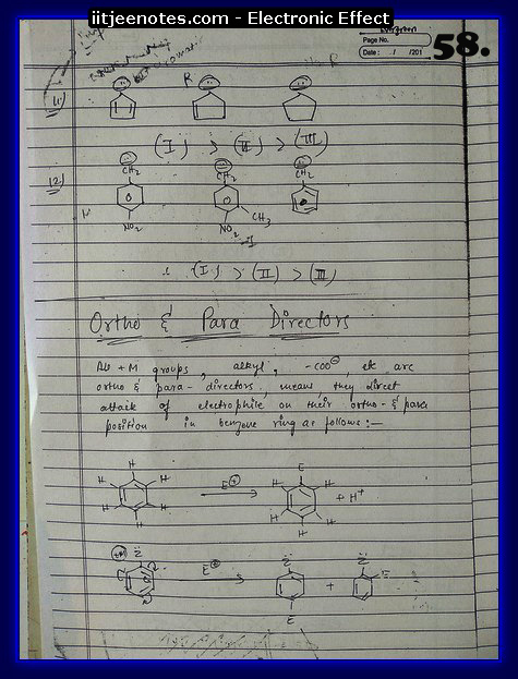 Electronic Effect chemistry13