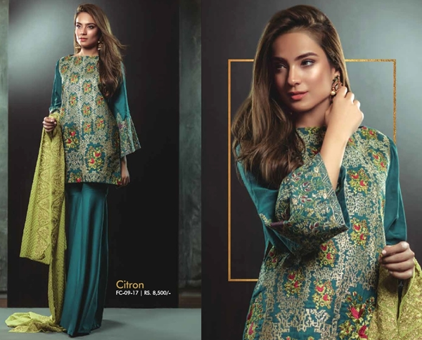 Latest Eid Collection 2017 by AlKaram With Price Catalogue