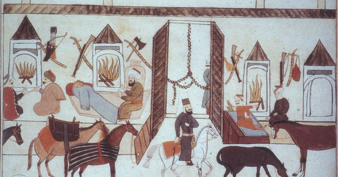 World History Teachers Blog: Caravanserai and the Silk Roads