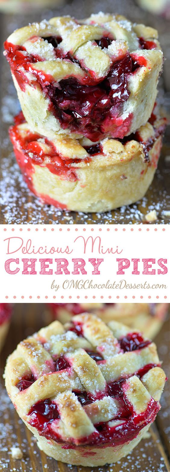 Mini Cherry Pies