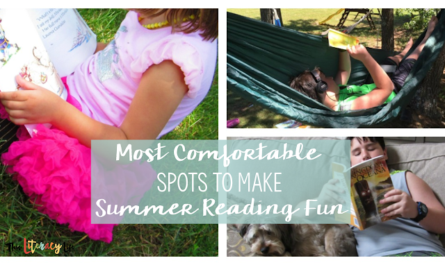 These comfortable spaces can also be lots of fun as we get kids to read over the summer. These spaces will keep kids reading all summer long!