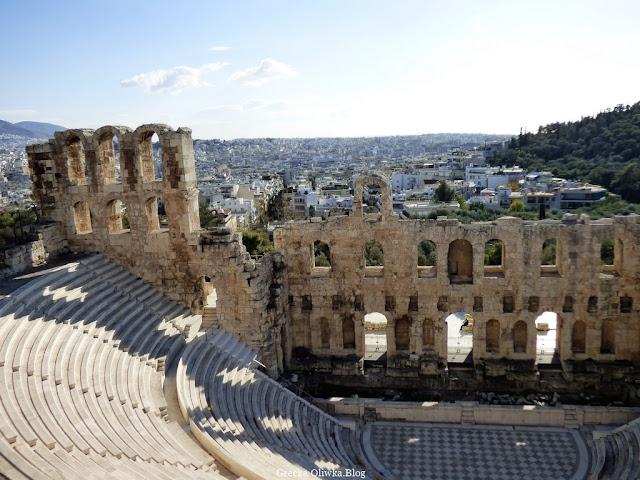 Odeon Herodesa Attykusa, Ateny Grecja