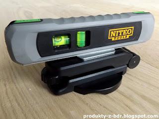 Poziomica laserowa Niteo Tools z Biedronki Laser Level