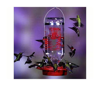 awesome eco-friendly 6th anniversary gift hummingbird feeder