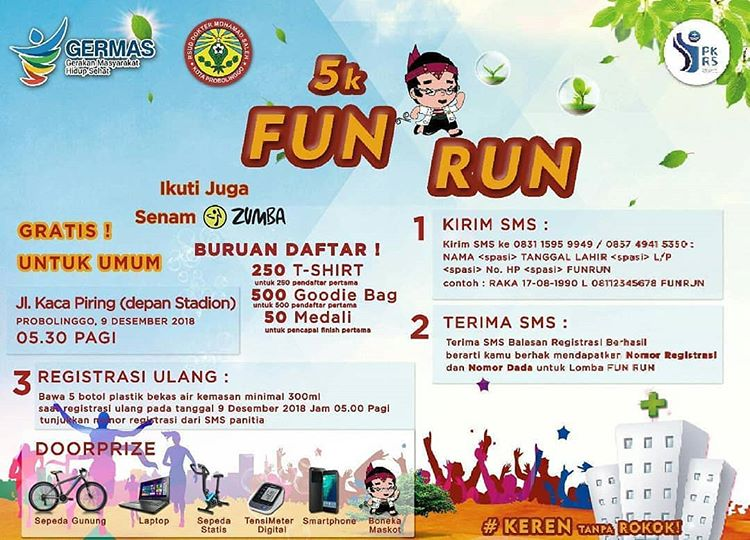 Germas Fun Run • 2018