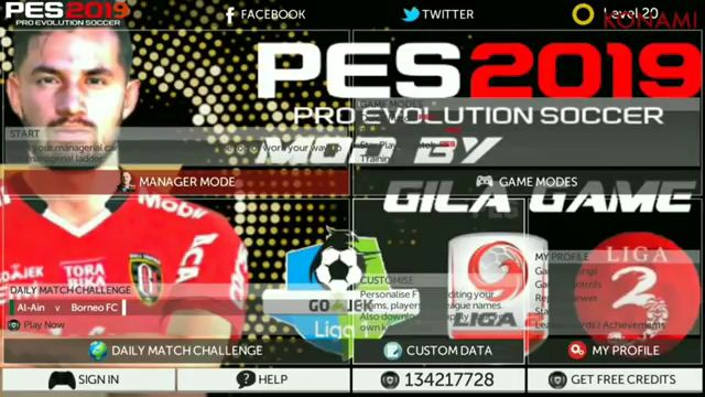 FTS Mod PES 2019 Full Timnas Indonesia