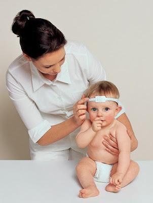 Cinta para medida medica de circunferencia de cabeza de bebé seca 212