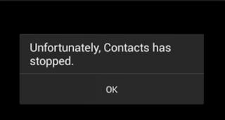 Panduan Menangani Sayangnya Kontak Sudah Berhenti di Android