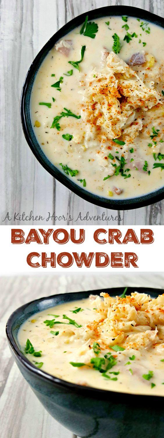 BAYOU CRAB CHOWDER