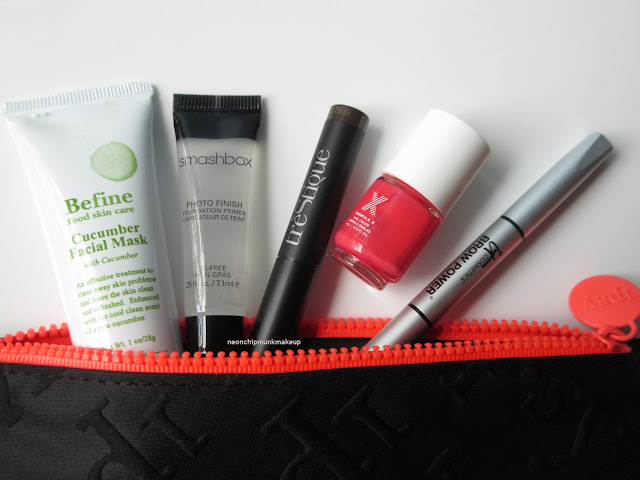 June 2015 Ipsy Bag Swim into Beauty