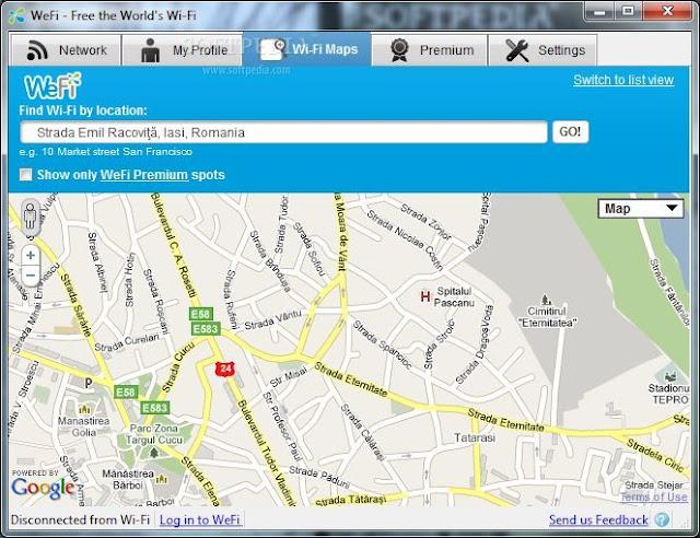 Wefi: Deteksi sinyal wifi yang terbaik