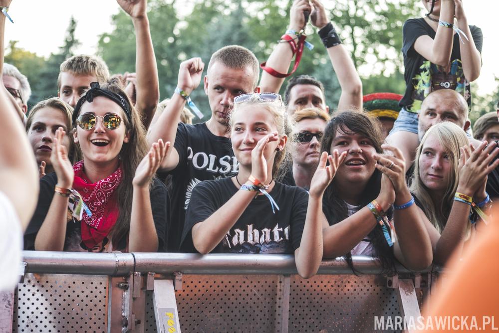 Perfect tłum crowd publika Czad Festiwal