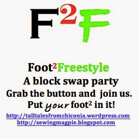 Foot Sqaure Freestyle Block Swap
