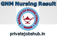 GNM Nursing Result