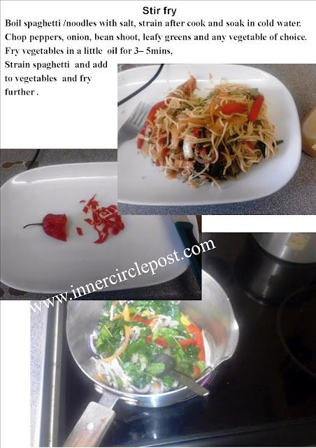 stir fry indomie recipe