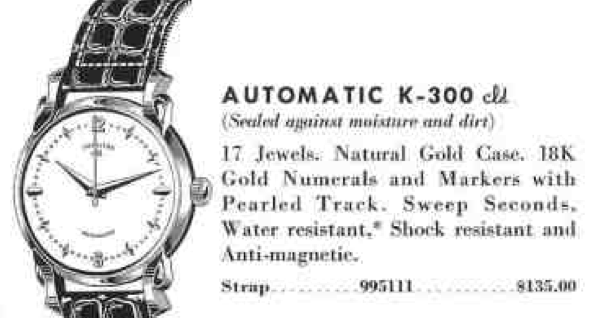 Vintage Hamilton Watch Restoration: 1954 Automatic K-300 CLD