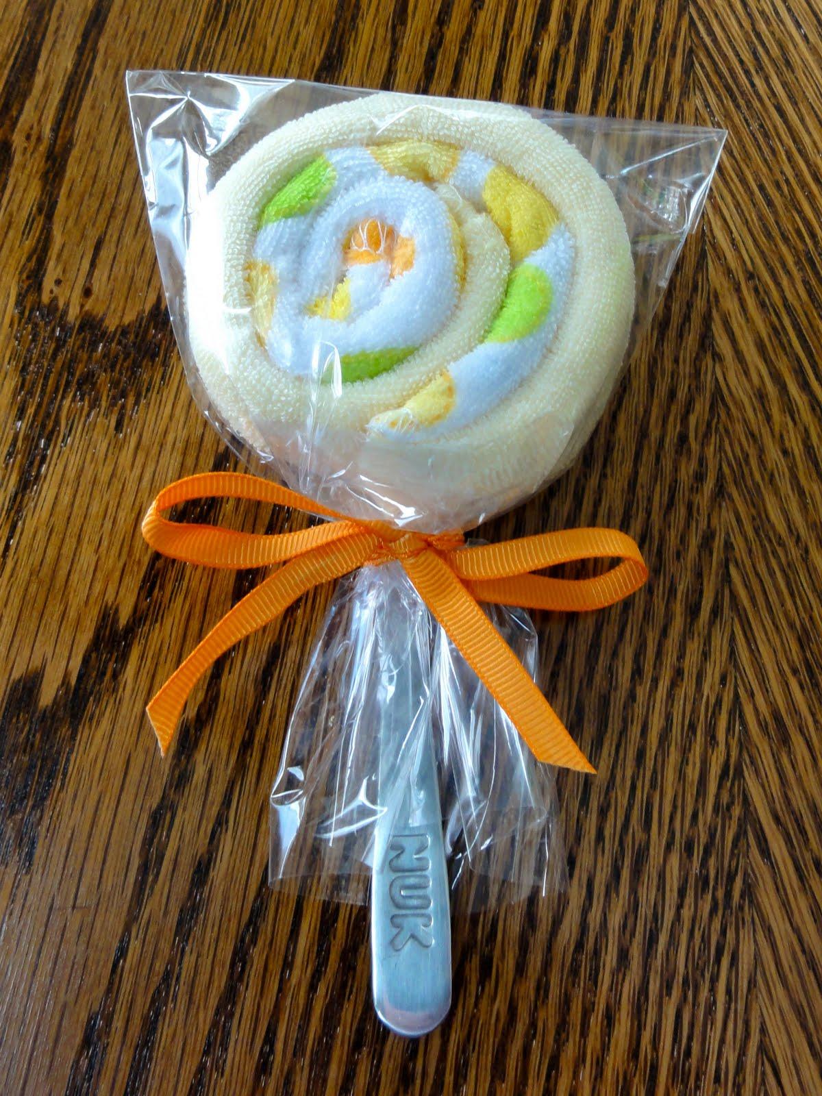 320 Days of Sunshine Stephs Sunday Share Baby Washcloth Lollipops