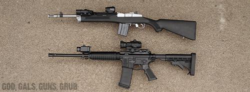 God Gals Guns Grub Ruger Mini 14 Tactical Rifle