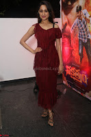 Pragya Jaiswal in Stunnign Deep neck Designer Maroon Dress at Nakshatram music launch ~ CelebesNext Celebrities Galleries 010.JPG