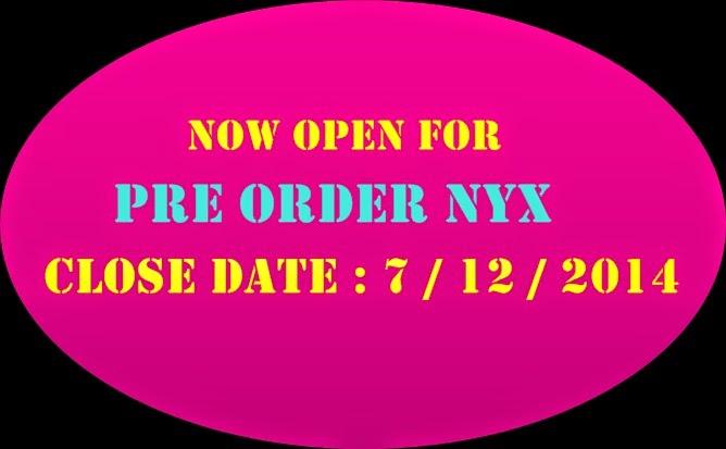 PRE-ORDER NYX