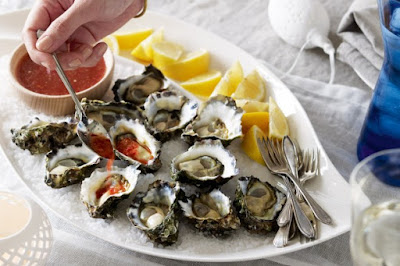 Oysters with nam jim dressing desserts recipes